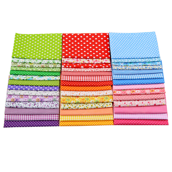 42pcs/lot Plain Patchwork Cotton Fabric Quit Fabric Bundle Sewing Fabric For DIY Woman Bags,Pillow 50*50cm